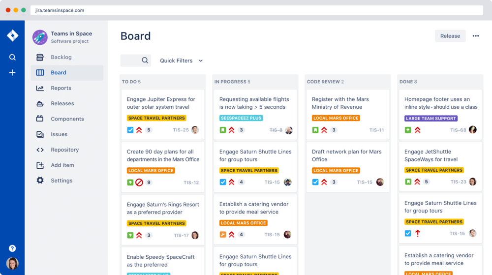 Join our Atlassian JIRA environment today