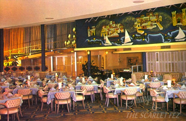 Riviera Resort Hotel, Palm Springs, 1950s. From   Palm Springs Holiday  , Peter Moruzzi.