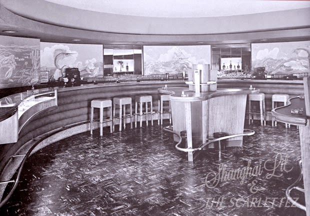 Richlor's, Beverly Hills, Los Angeles, 1940s. From   The Leisure Architecture of Wayne McAllister  , Chris Nichols.