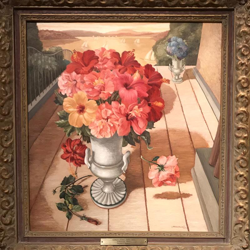 'Hibiscus' - Adrian Feint 1945