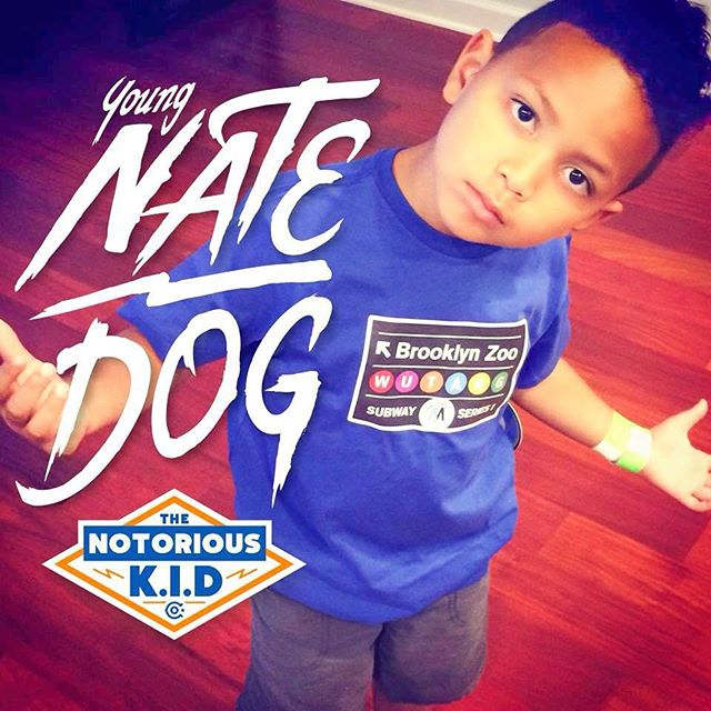 Here's young Nate Dog aka Lil Chang rocking that Wu-Tang, ready to go back to school in his Notorious K.I.D gear. Thanks to the Cool Chang Clan for sharing this great photo of Nate. ‪#‎backtoschool‬ is still on 20% off ‪#‎wutangisforthechildren‬