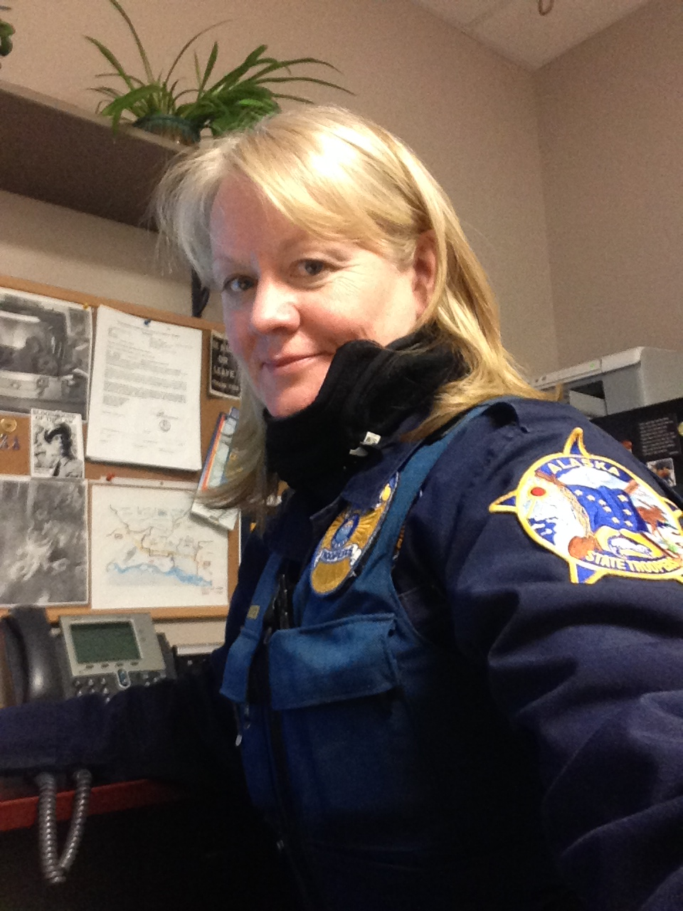 Investigator Kirsten Hansen Alaska State Troopers Detachment D Investigator Hansen is an outstanding investigator.  Investigator Hansen displays outstanding attention to detail and in 2015 worked on over 10 homicide investigations where she personally investigated 15 sexual assault investigations and provided support for 2 officer-involved shooting investigations.  Investigator Hansen can be counted on to provide support to the Alaska State Troopers either in rural or urban environments.  Hansen has been working with the troopers for 14 ½ years. She currently works for the Alaska Bureau of Investigation (ABI), and has been for the past 4 years. Previously, she has worked as a patrol officer in Fairbanks, the Village of Emmonak, and in Delta Junction. Prior to being an officer, Hansen had worked in dentistry for 15 years. She currently volunteers for her church for youth and singles activities. In her free time, she likes to garden, spend time with her family and dogs in the outdoors, and has an interest in photography. The thing she enjoys the most about her work is working crime scenes, and putting together a case by finding the facts/evidence to solve it.