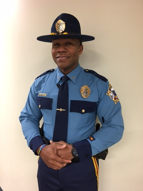 Trooper Malik Jones  Alaska State Troopers Detachment D Trooper Jones is a member of the Special Projects Unit and has solved numerous complex criminal investigations. He serves his community by teaching Distracted Driving to students and assisting with Project Lifesaver and Neighborhood Watch. Trooper Jones is also tasked with responding to fatality accident investigations. Trooper Jones spends his off duty time assisting with numerous community athletic programs and service organizations.  MAC