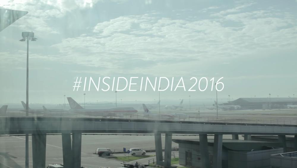#InsideIndia 2016 Tour Video