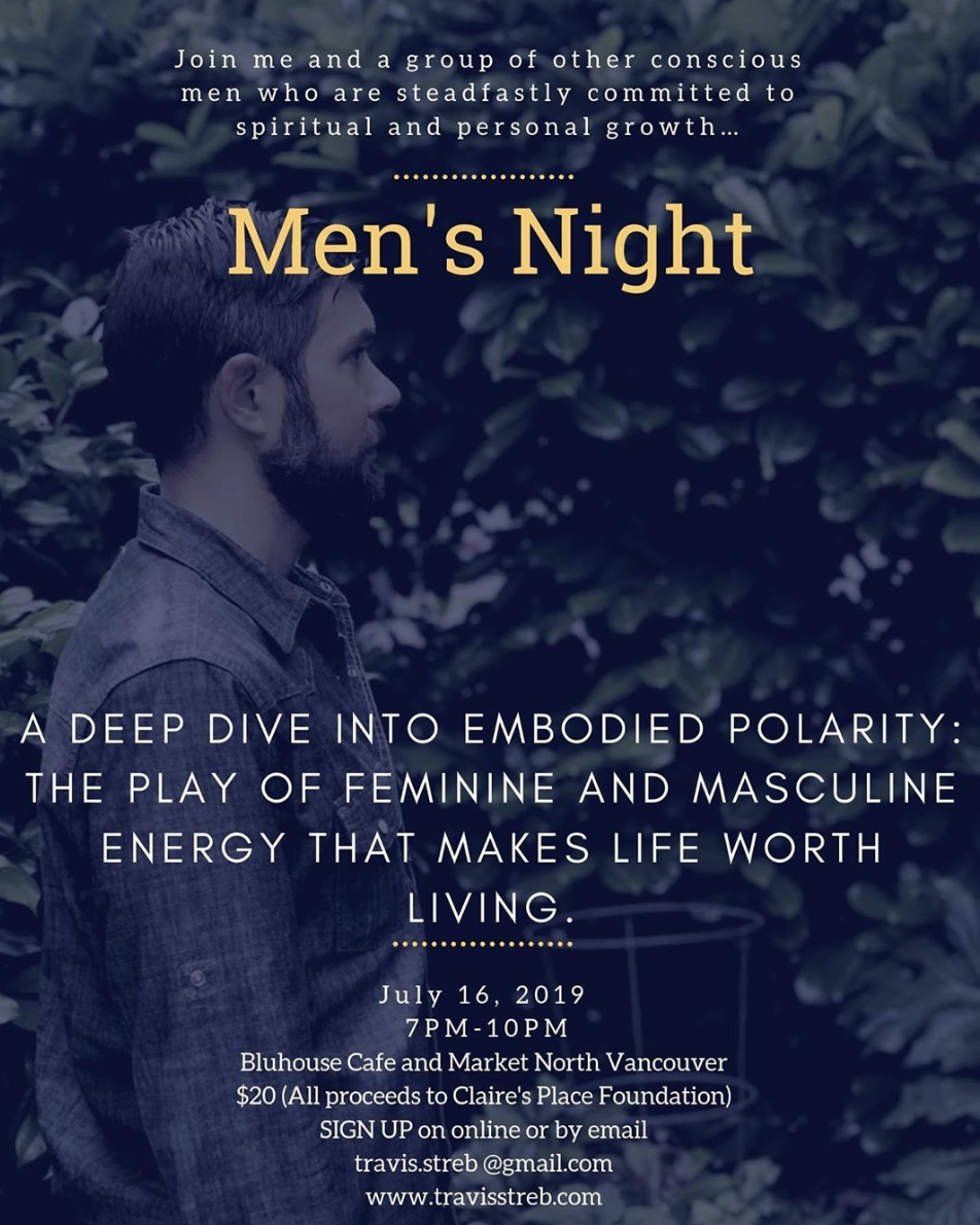 Men's Night with Travis Streb — Bluhouse Market & Cafe