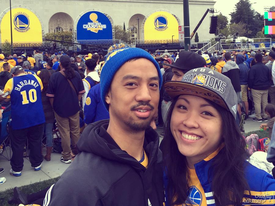 2015 Golden State Warriors NBA Championship Rally | craftycarmen