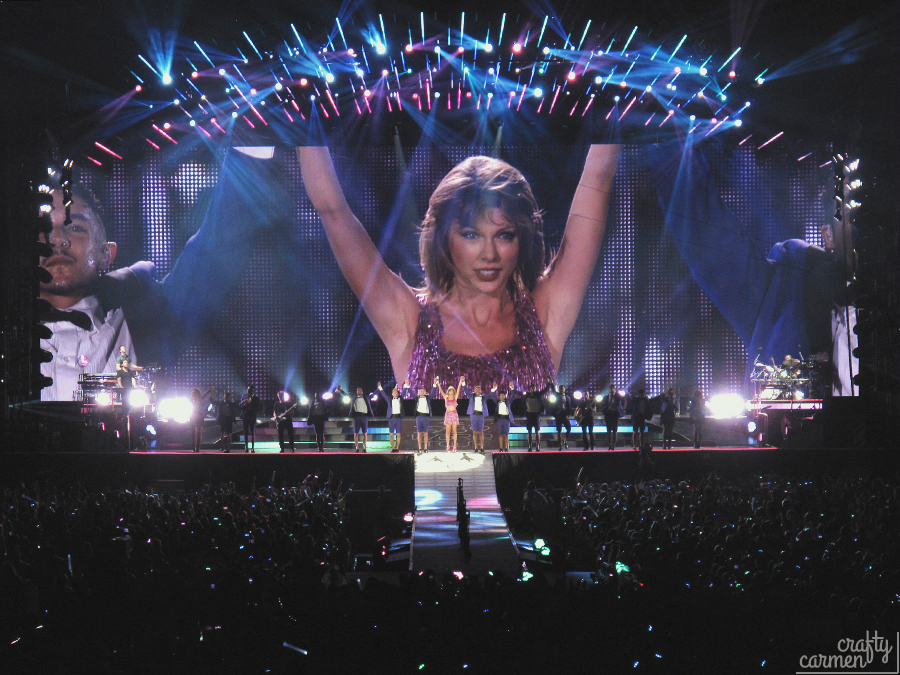 Taylor Swift: 1989 World Tour at Santa Clara, CA | craftycarmen