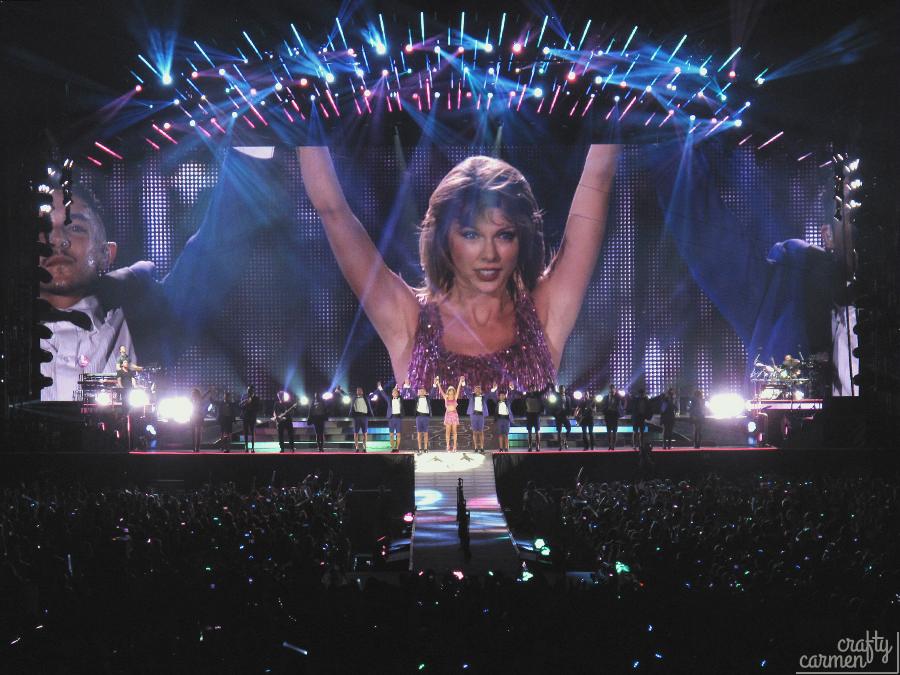 Taylor Swift: 1989 World Tour at Santa Clara, CA | craftycarmen