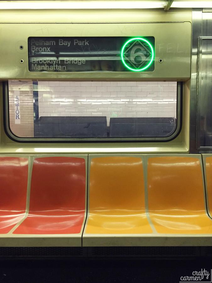 Subway, New York | craftycarmen