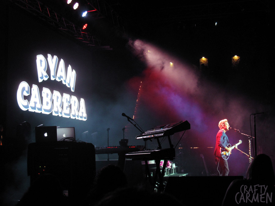 My2K Tour: Ryan Cabrera | craftycarmen