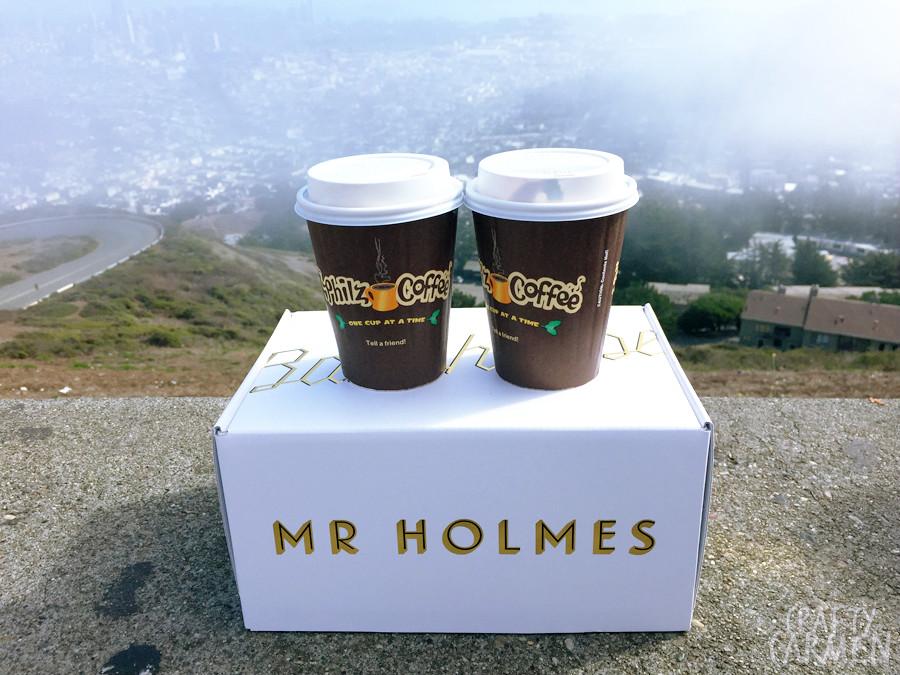 Philz Coffee + Mr. Holmes | craftycarmen