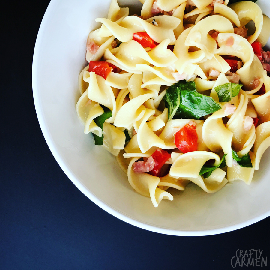 Stephen's Five-Ingredient Pasta | craftycarmen