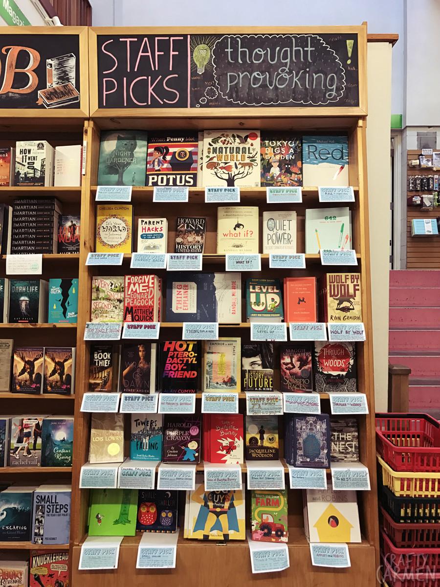 Powell's City of Books in Portland, OR | craftycarmen