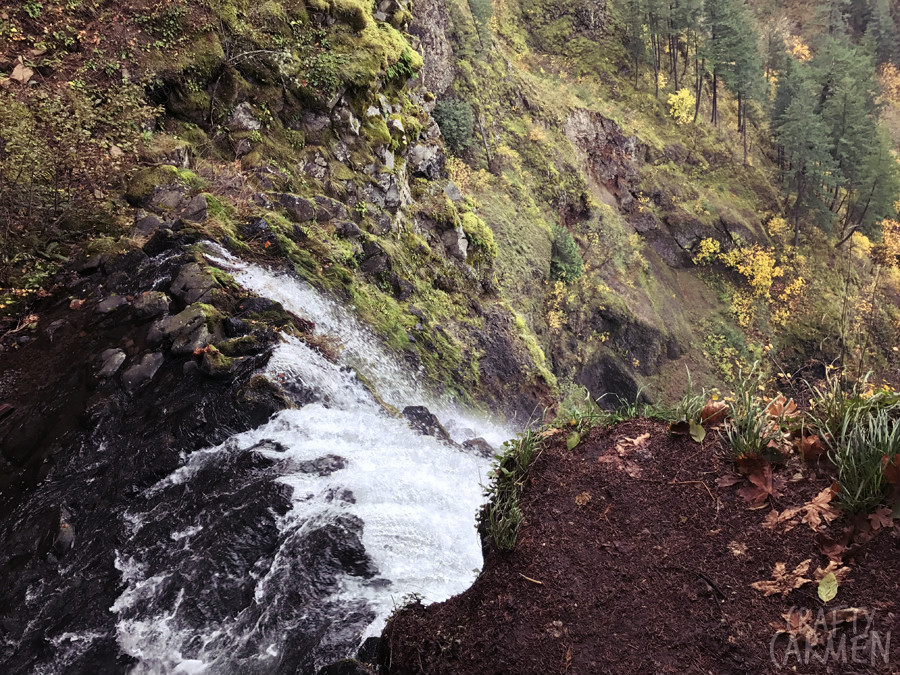Multnomah Falls in Corbett, OR — the second tallest waterfall in the U.S. | craftycarmen