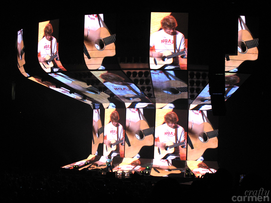 Ed Sheeran's ÷ Tour in Oakland, CA | craftycarmen
