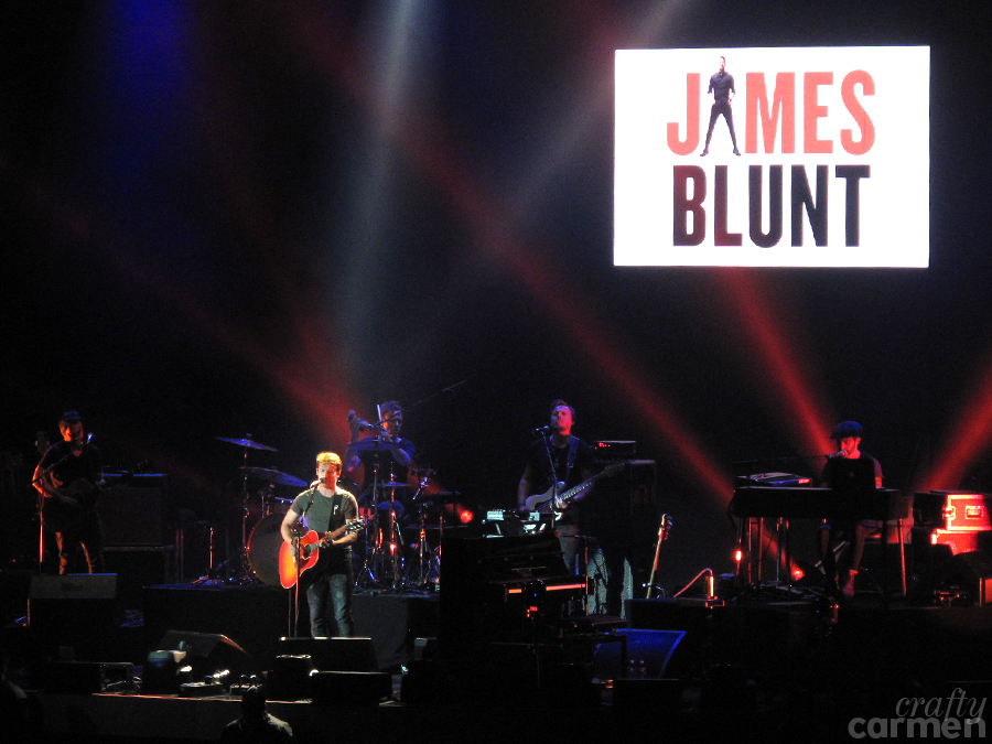 James Blunt at Ed Sheeran's ÷ Tour in Oakland, CA | craftycarmen