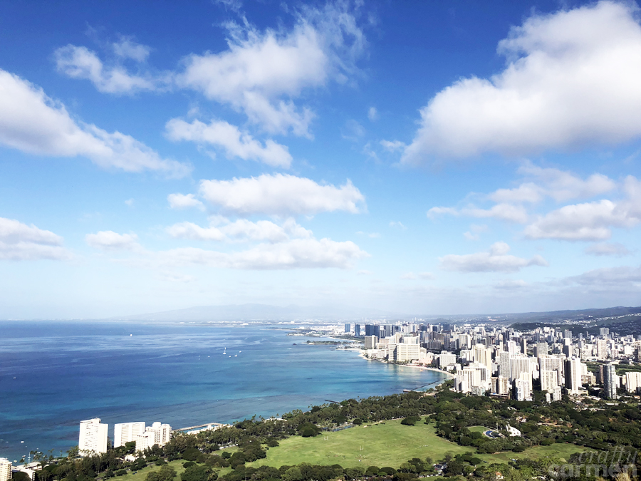 Diamond Head in Honolulu, HI | craftycarmen