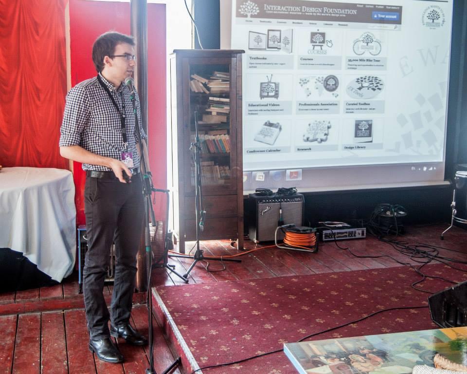 WIAD2014 Bucharest - Alecsandru Grigoriu