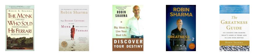 robin-sharma-books