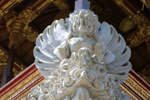 Garuda - stone sculpture in Ubud Temple