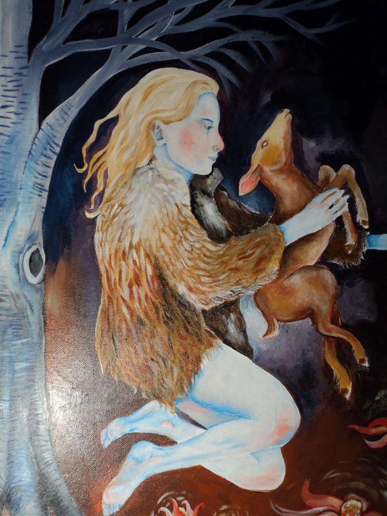"""""""Deer Lady"""" (c) 2012 Jordan Towle"""