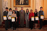 Anthony Quinn Foundation Announces First Scholarship Awards at Rhode Island State House Ceremony