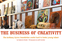 The Business of Creativty, The Bay Magazine, September 2011