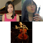 Megan Lee, Tsukumo (Tina) Niwa, and Erica Ogihara