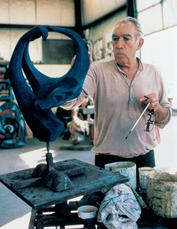 The Legacy of Anthony QuinnThroughout his life, Anthony Quinn was steeped in creativity. -