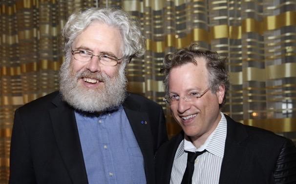 Dr. George Church & Ben Mezrich                        photo: Russ Mezikofsky
