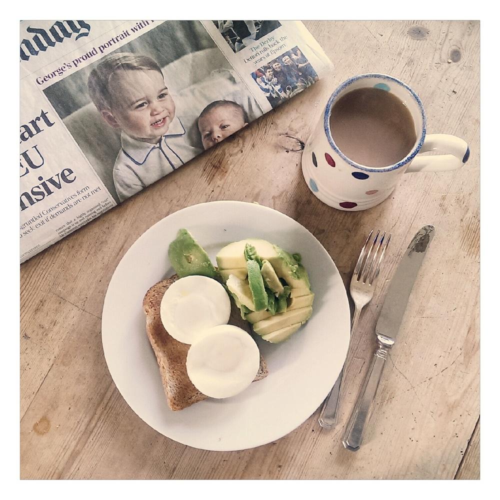 eggs and avocado - rubelle