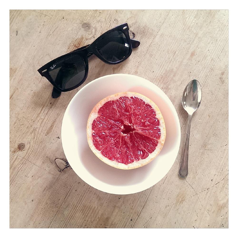 grapefruit breakfast - rubelle