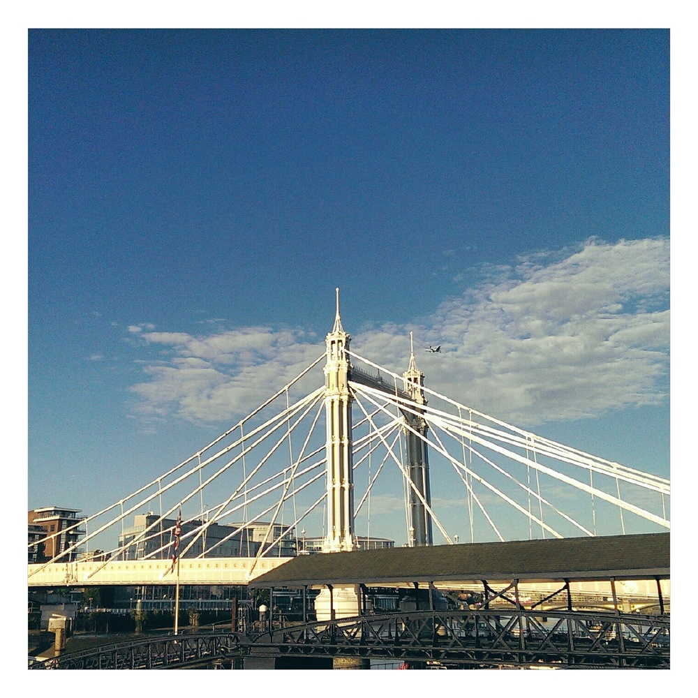 sunny morning run - rubelle