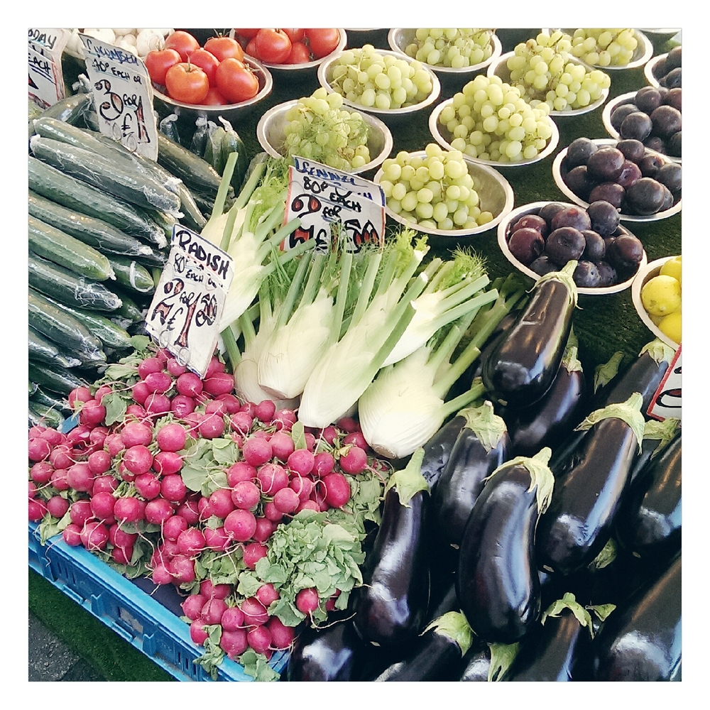 fruit and vegetable market - rubelle