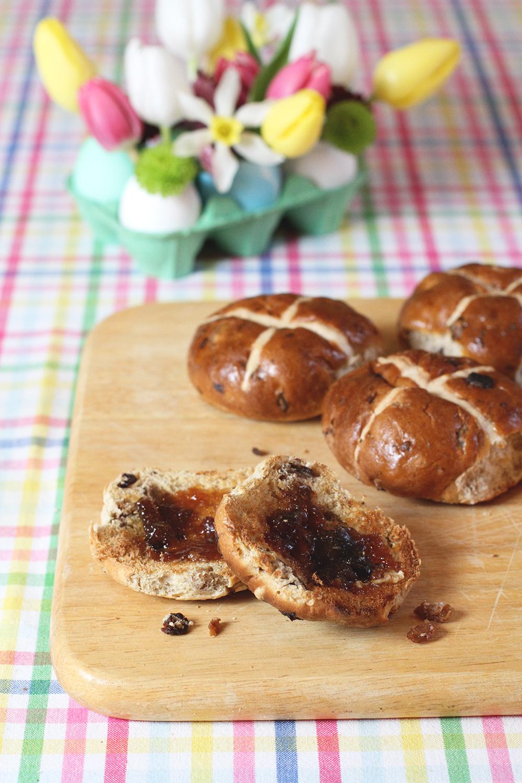 Rubelle    Easter Hot Cross Buns
