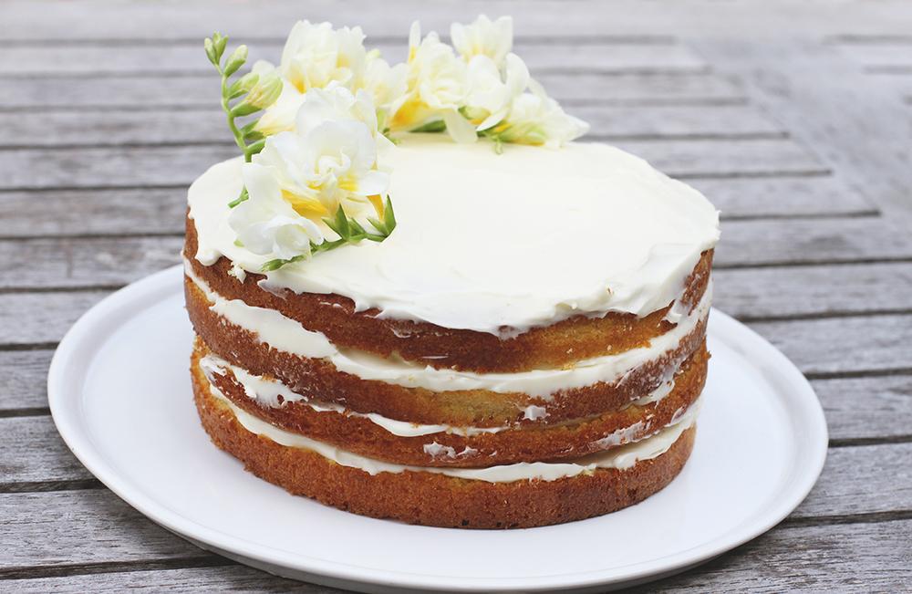 Rubelle || Elderflower, lemon, mascarpone cake