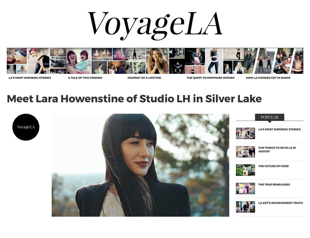 VOYAGE LA (AUGUST 2017)