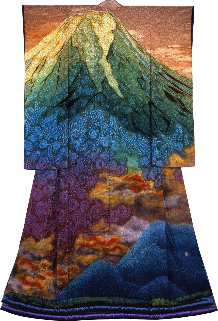 A kimono bykubota itchiku - Fujisan