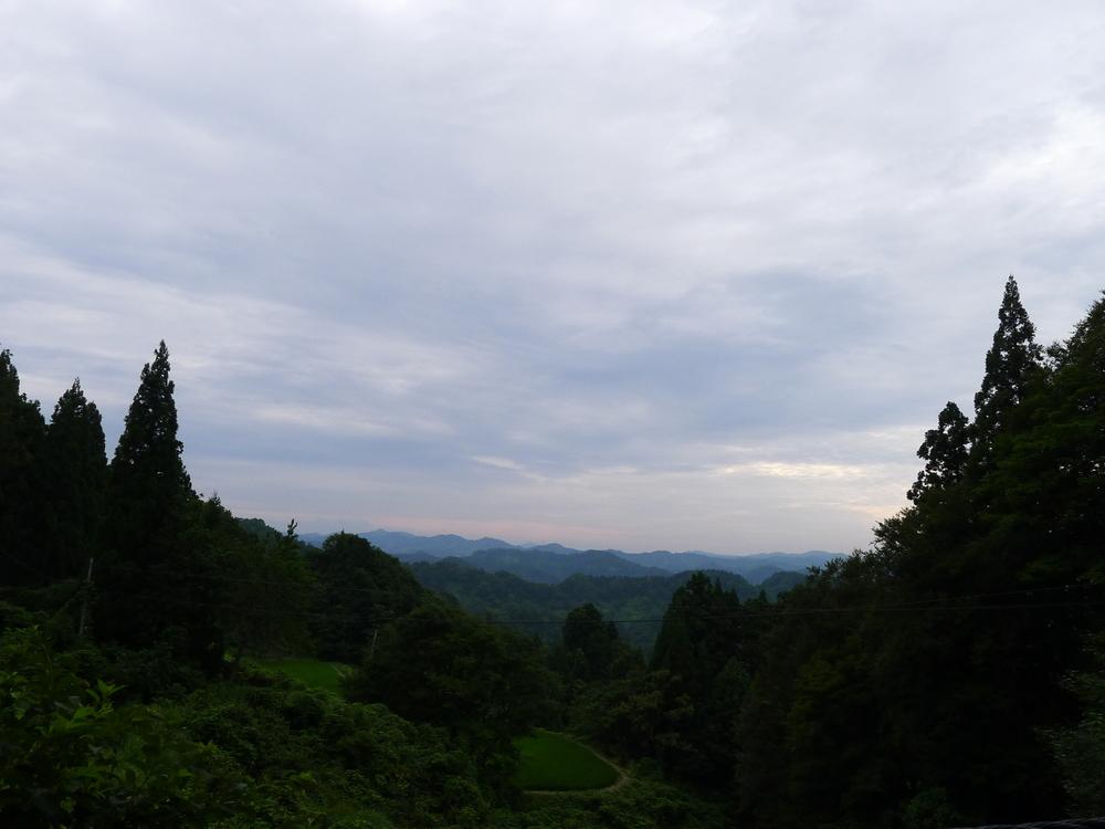 Typical landscape in Niigata prefecture