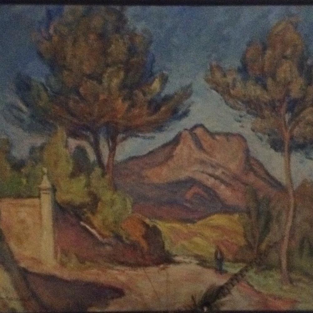 Moutain Sainte Victoire