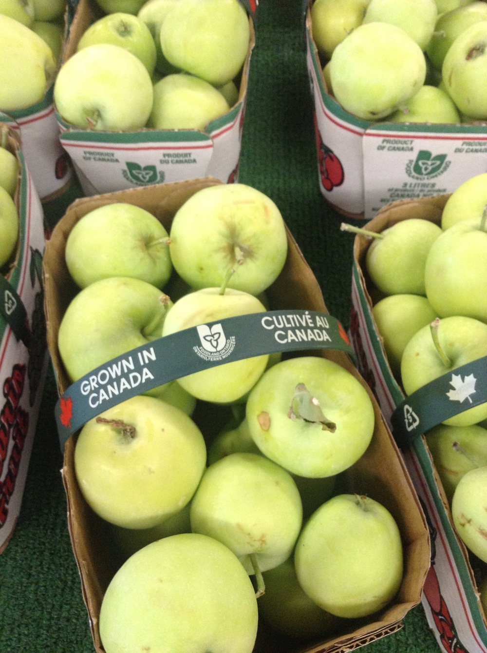 Canadian apples