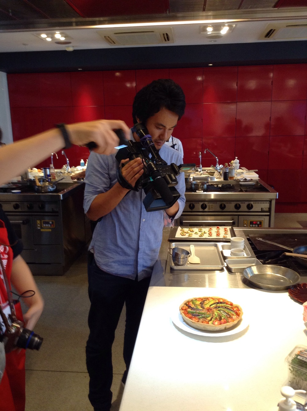 Shooting before plating