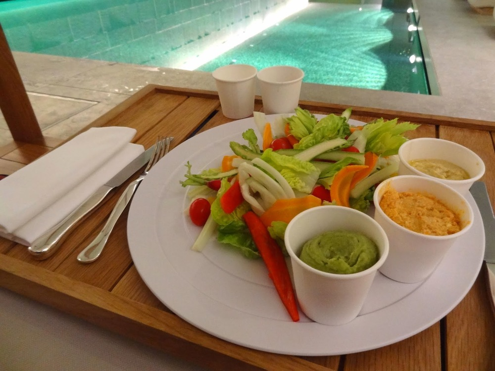 TBE+The+Bulgari+Spa+Crudites+Poolside.JPG