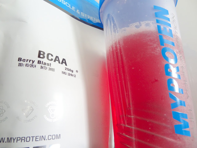 MyProtein BCAA Berry Blast Powder Supplement