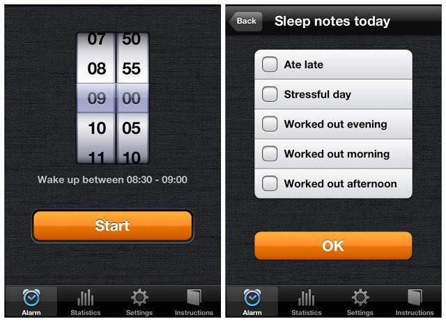 Sleep Cycle App Alarm and Sleep Notes