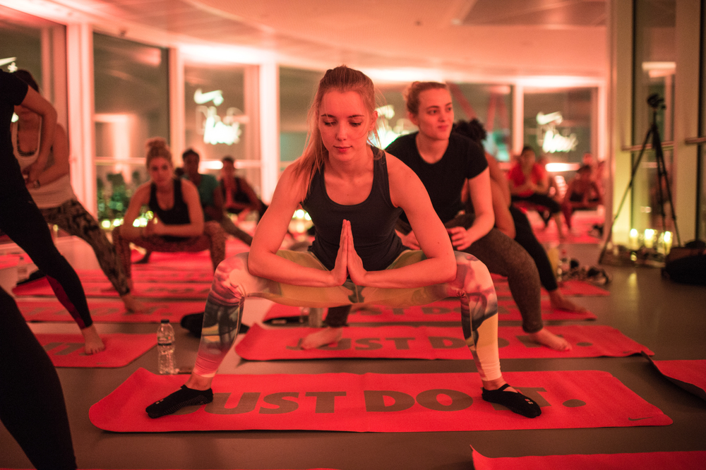 NIke Training Club Week London Yoga The Orbit Natalie