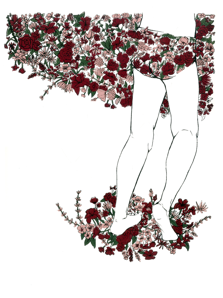 F is for Floral Bums