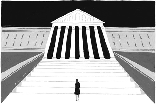 Supreme Court Making Women Feel Small