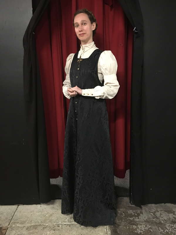 Gelsey Bell in costume