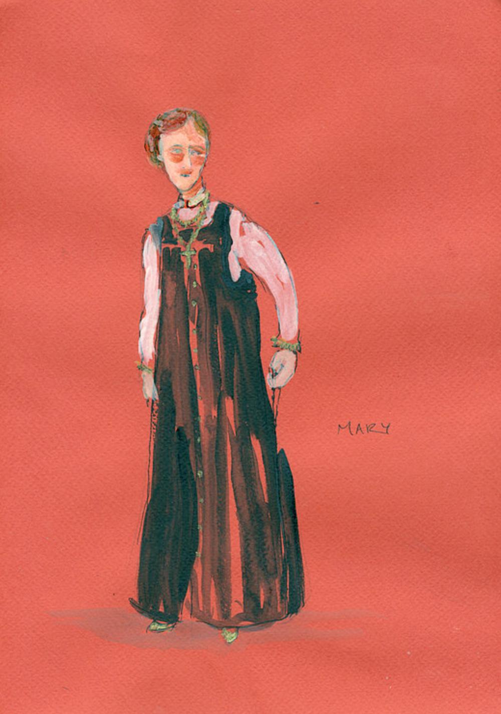 illustration of Princess Mary